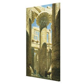 Karnak, c.1866 (w/c en el papel) lona envuelta para galerias