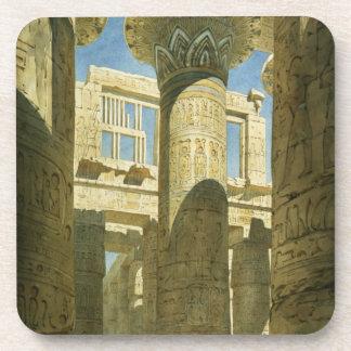 Karnak, c.1866 (w/c en el papel) posavasos de bebida
