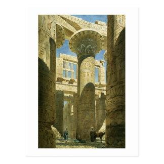 Karnak, c.1866 (w/c en el papel) tarjeta postal
