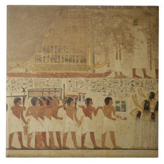 Karnak Temple- Luxor, Egypt Ceramic Tile