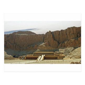 karnak temple postcard
