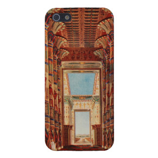 Karnak Temple Vintage Print iPhone Case Cover For iPhone 5