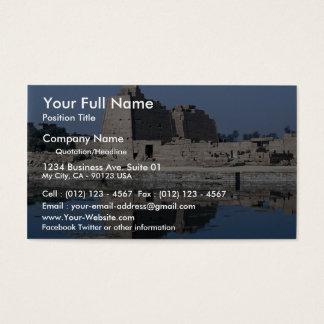 Karnak, upper Egypt Business Card