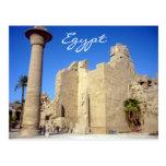 karnak walls postcard
