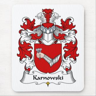 Karnowski Family Crest Mouse Pad