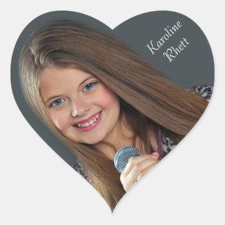 Karoline Rhett Heart Sticker