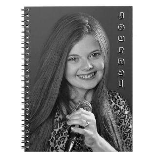 Karoline Rhett Spiral Notebook