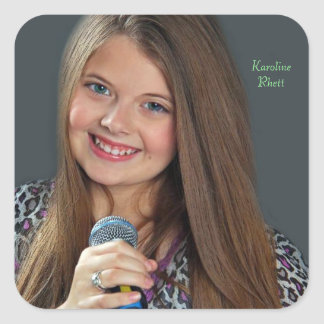 Karoline Rhett Square Sticker