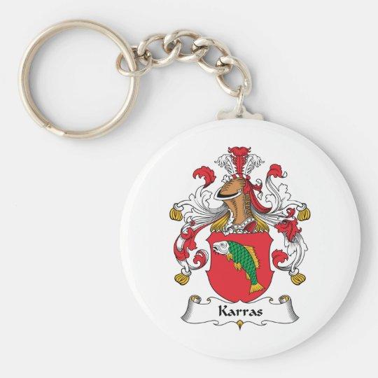 Karras Family Crest Keychain