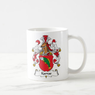Karras Family Crest Coffee Mug