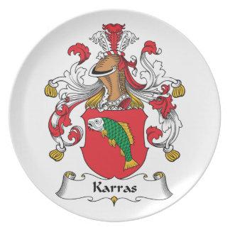 Karras Family Crest Plate