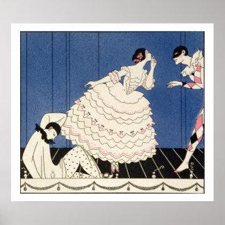 Karsavina, 1914 (impresión del pochoir) poster