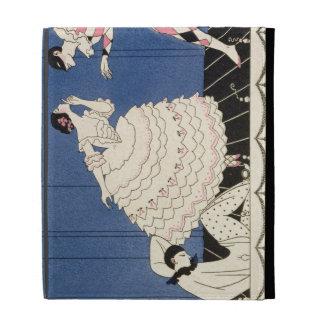 Karsavina, 1914 (pochoir print) iPad folio cases