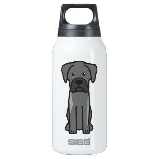 Karst Shepherd Dog Cartoon Thermos Bottle