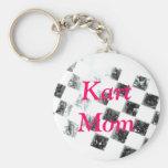 Kart Mom Key Chain