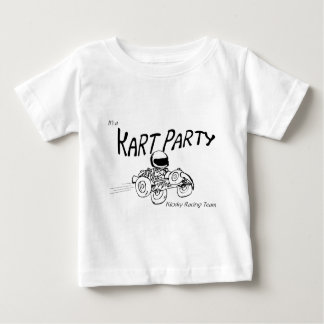 Kart Party Black Logo Baby T-Shirt