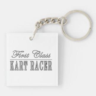 Kart que compite con a los corredores de Kart: Cor Llaveros