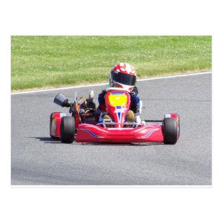 Kart Racer Postcard