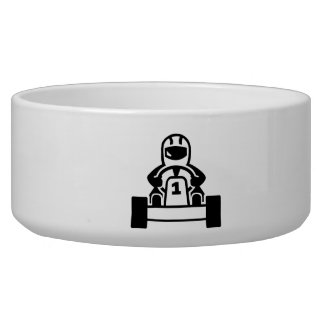 Kart racing bowl