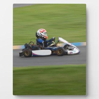 Kart Racing Photo Plaque