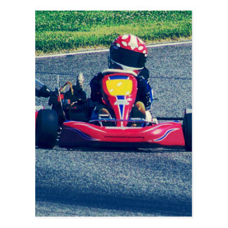 Kart Racing Post Cards