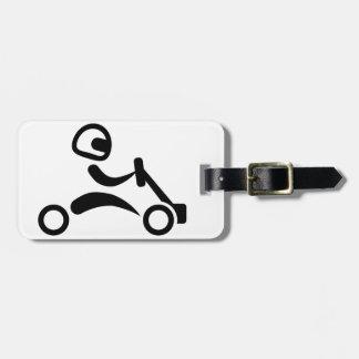Kart racing tag for luggage