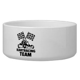 Kart racing team bowl