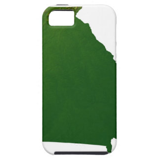 Karte von Georgia iPhone SE/5/5s Case