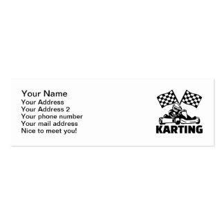 Karting Mini Business Card