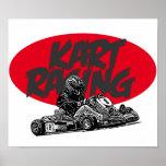 Karting race poster