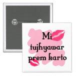 Karto tujhyawar del prem del MI - Marathi te amo Pins