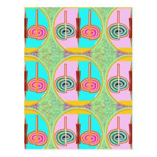 KARUNA Reiki : Kreeya Infinite Balancing Symbol Postcard