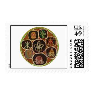 Karuna Reiki Medal Collectors edition Stamp