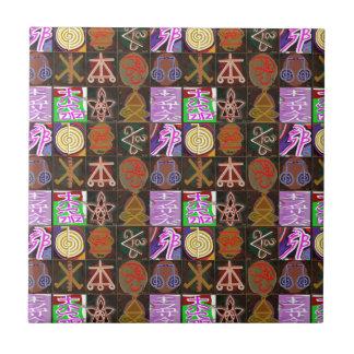 KARUNA Reiki = regalos de la cura cósmica de la am Tejas Ceramicas