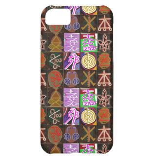 KARUNA Reiki = regalos de la cura cósmica de la Funda Para iPhone 5C