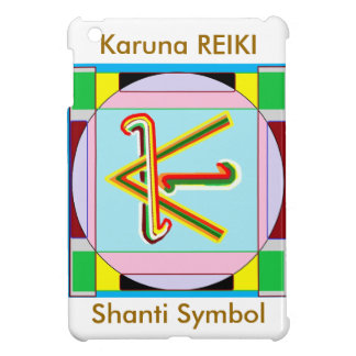 KARUNA Reiki : Shanti Peace be with all iPad Mini Covers