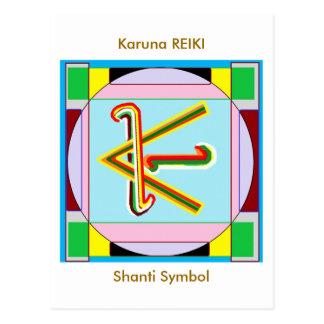 KARUNA Reiki : Shanti Peace be with all Postcard