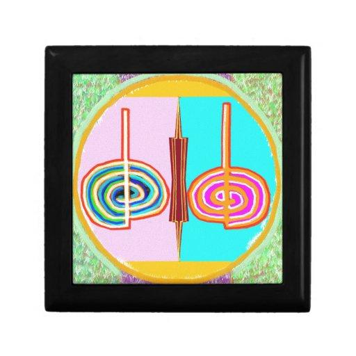 KARUNA Reiki: Símbolo de equilibrio infinito de Kr Caja De Regalo