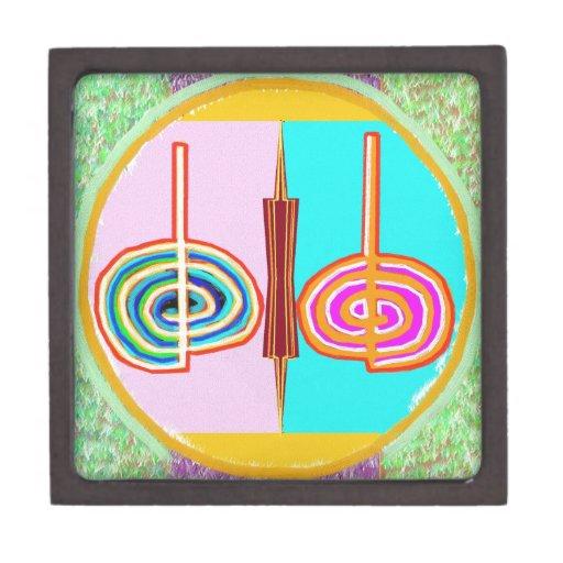 KARUNA Reiki: Símbolo de equilibrio infinito de Kr Caja De Regalo De Calidad
