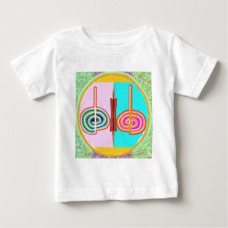 KARUNA Reiki: Símbolo de equilibrio infinito de Playera De Bebé