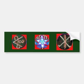 Karuna Reiki Symbol -  RAMA Bumper Sticker