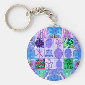 KARUNA Reiki Symbols : Artistic Rendering Key Chain