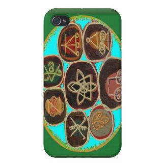 KARUNA Reiki Symbols by Navin Joshi Cases For iPhone 4