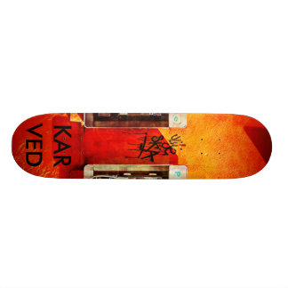 Karved Brand skateboard