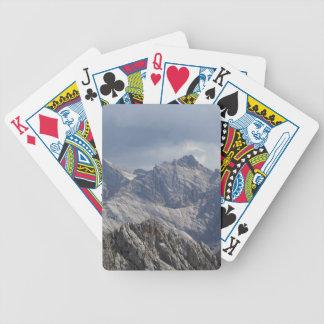Karwendel range in the Bavarian Alps. Bicycle Playing Cards