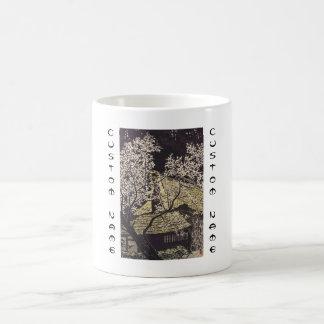 Kasamatsu Plum Trees At Yoshino japanese art Coffee Mug