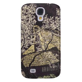 Kasamatsu Plum Trees At Yoshino japanese art Samsung Galaxy S4 Cover