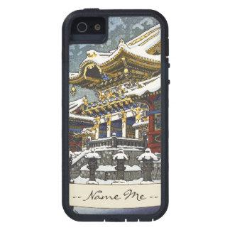 Kasamatsu Shiro Snow at Yomei Gate in Nikko iPhone SE/5/5s Case