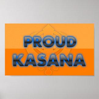Kasana orgulloso orgullo de Kasana Posters