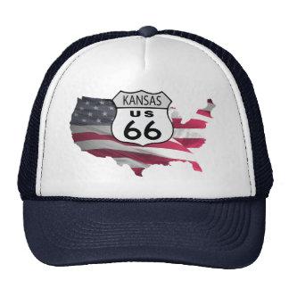 Kasas Route 66 Trucker Hat